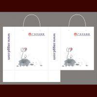 深圳牛皮纸袋烧烤食品外卖打包手提袋印刷定制