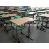 佛山港文家具中空吹塑板课桌椅,教学用课桌椅制造厂家报价