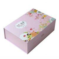 深圳礼品盒设计 化妆品精装盒定做 印刷***皮盒 精美翻盖包装盒定制