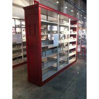 图书馆书架双面定制书架木护板书架