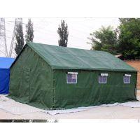 帆布棉帐篷可定做防寒保暖顶部加厚牛津布 防雨 双层帐一居室