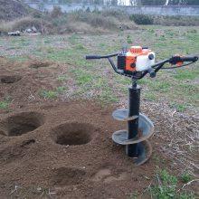 汽油轻便打坑机 葡萄园种树机 圣鲁多功能植树挖坑机