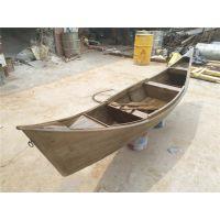 传统木质工艺木船 观赏船 仿古做旧景观亮化船 装饰木船哪里有