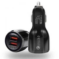 QC3.0车充 双USB输出 智能IC保护 车载