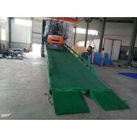 来宾12吨港口集装箱装货手摇式货车卸货平台 汽车移动式登車橋