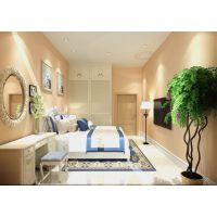 【福润观海花园】130平米清新美式风格装修效果图—鸿图装饰案例