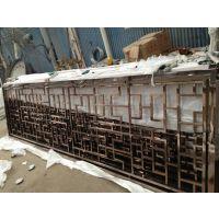 不锈钢屏风花格加工工艺区别 点焊 满焊价格