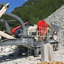 山东环保型石子破碎机 反击破系列移动破碎站