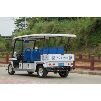 供应湖南卓越牌型号为G1P8的八座豪华电动巡逻车 ,交流配置,爬坡力度大