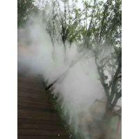 西安造景造雾凯普威景观喷雾人造雾