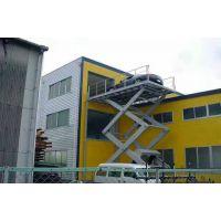 厦门大型固定式升降台厂家 5吨剪叉式汽车升降平台 大台面链条式货梯 可按需定制