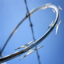 热镀锌刺绳 螺旋型刀片刺网 刀片刺绳设备