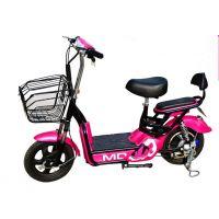 14英寸48V新款350W小尚丁电动自行车爱女式双人电动车