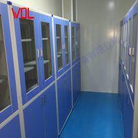 承接无菌室无尘车间洁净厂房实验室边台中央台试剂架药品柜定制