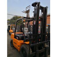 转让杭州5吨柴油叉车 二手杭州叉车升高4米出售