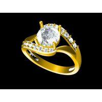 生产黄铜负离子男戒指 水晶戒指 —复古饰品定做厂家