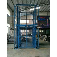 许昌导轨式升降平台 货梯升降机 厂房液压货梯 液压升降台工厂直销 支持定做