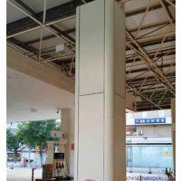 加油站装修S型高边防风铝条扣,加油站包柱铝圆角