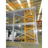 三层钢平台 正耀阁楼式三层钢结构平台