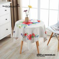 厂家批发棉麻桌布布艺防尘布小圆桌长方形餐桌布盖布茶几盖巾台布