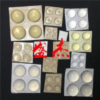 SJ高性能软质透明消音防撞胶粒 自粘防滑硅胶透明垫生产厂家-盛杰橡塑