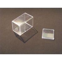 小方盒 透明一次性食品盒 干果盒 糖果盒 方形零食罐 礼品包装罐
