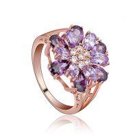 精美女式镶嵌锆石戒指 实力饰品工厂直销 200件起批