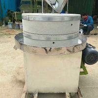 半自动豆浆米浆石磨豆腐水磨 加工定做多规格石磨机