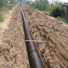排污用钢带增强塑料螺旋波纹管
