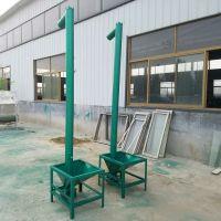 山东鲁强厂家直销12cm管径2m长油菜籽螺旋提升机