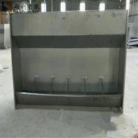 育肥猪不锈钢料槽双面喂猪食槽大猪料槽常年供应