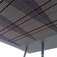 吊顶天花6063铝方管多规格定制 木纹外墙装饰材料型材铝方通吊顶
