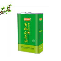 1L茶籽油铁罐 马口铁方形食用油铁罐厂家定制
