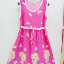 童装女童夏季新款连衣裙女宝宝可爱公主裙儿童蓬蓬裙六一表演裙