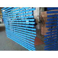 金属格栅天花 商场铝格栅天花吊顶表面工艺:静电粉末喷涂