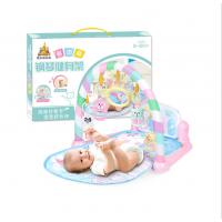 多功能爬行毯 护栏脚踏钢琴婴儿健身架 初生婴儿玩具 中英文彩盒
