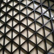 三角形铝格栅吊顶规格有哪些 广东欧百建材