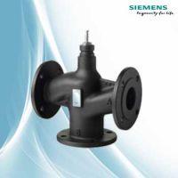 西门子蒸汽温度控制阀VVF53.15电动调节阀