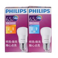飞利浦(PHILIPS) 灯泡LED灯泡球泡节能灯泡3W/5W/7W节能灯光源E27大口 9W白光