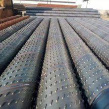 大口径桥式滤水管DN800、降水井用圆孔过滤器、Q235-B桥式滤水管