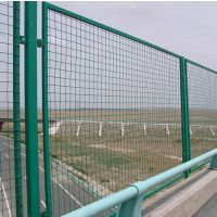 桥梁护栏网 优质广西桥梁防抛网 焊接浸塑桥梁防抛网