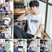 低价便宜处理男装t恤 韩版男式短袖T恤棉 外贸服装地摊货源 厂家批发