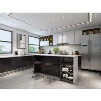 紫檀庄园联排中户别墅装修案例|现代风格设计方案效果图