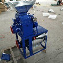 信达直销家用卧式小型易操作磨面机 粮食加工设备 无尘高细度小麦磨粉机