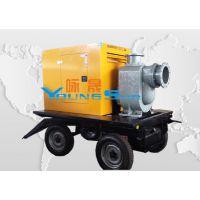 厂家直销 8寸柴油水泵 200ZW280-14 柴油机水泵 防汛排涝移动泵车