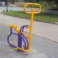 健骑机健身器材批发 云浮埋地单人健骑机 小区健身器材样式定制