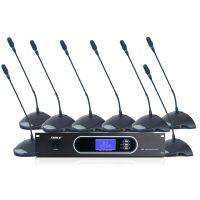 手拉手会议系统YW-8 鹅颈话筒数字会议系统台式有线麦克风