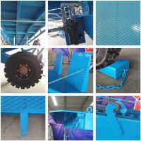 山东工厂批发固定液压式登车桥 月台高度调节板 液压升降装卸货平台