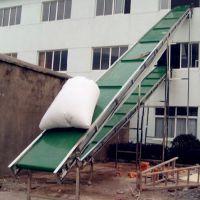 临沂市大倾角皮带输送机 石英砂用皮带输送机