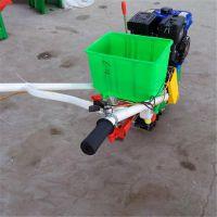 手推双行小麦施肥机 链轨式开沟施肥机 小型自走式农用趟地机